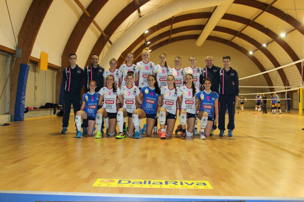 Parquet for Volleyball - Dalla Riva