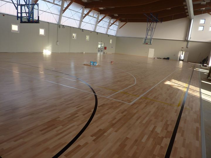 creation and renewal of court markings sports floors italy dalla riva