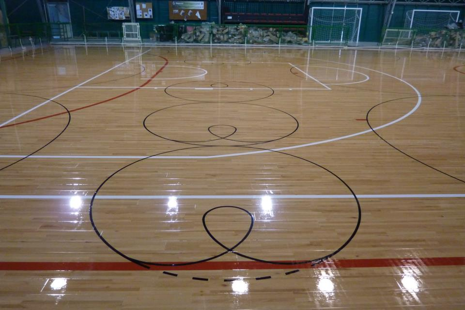creation and renewal of court markings