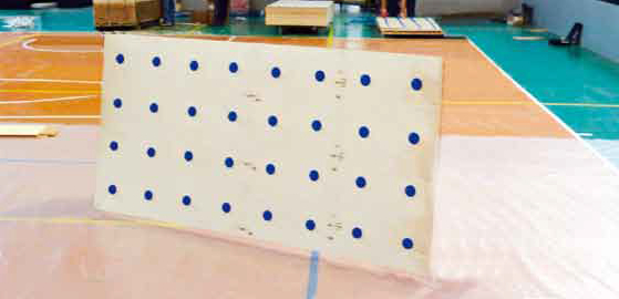jump system parquet for volleyball