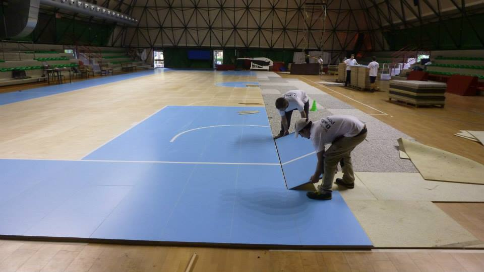 portable sports floors parquet dalla riva