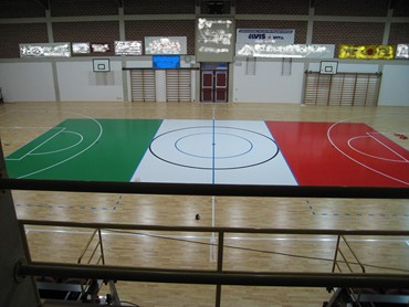 professional volleyball parquet sport floor