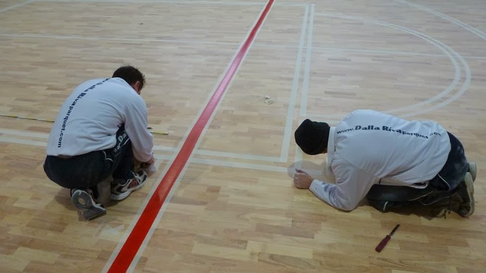 schhol gyms parquet floors