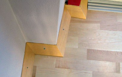 sports floors accessories baseboard