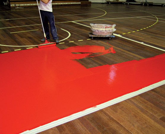 Sports Floors Fireproof
