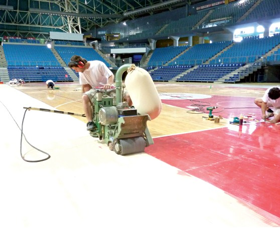 Sports Floors Maintenance