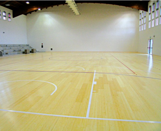 wood floors school gyms parquet
