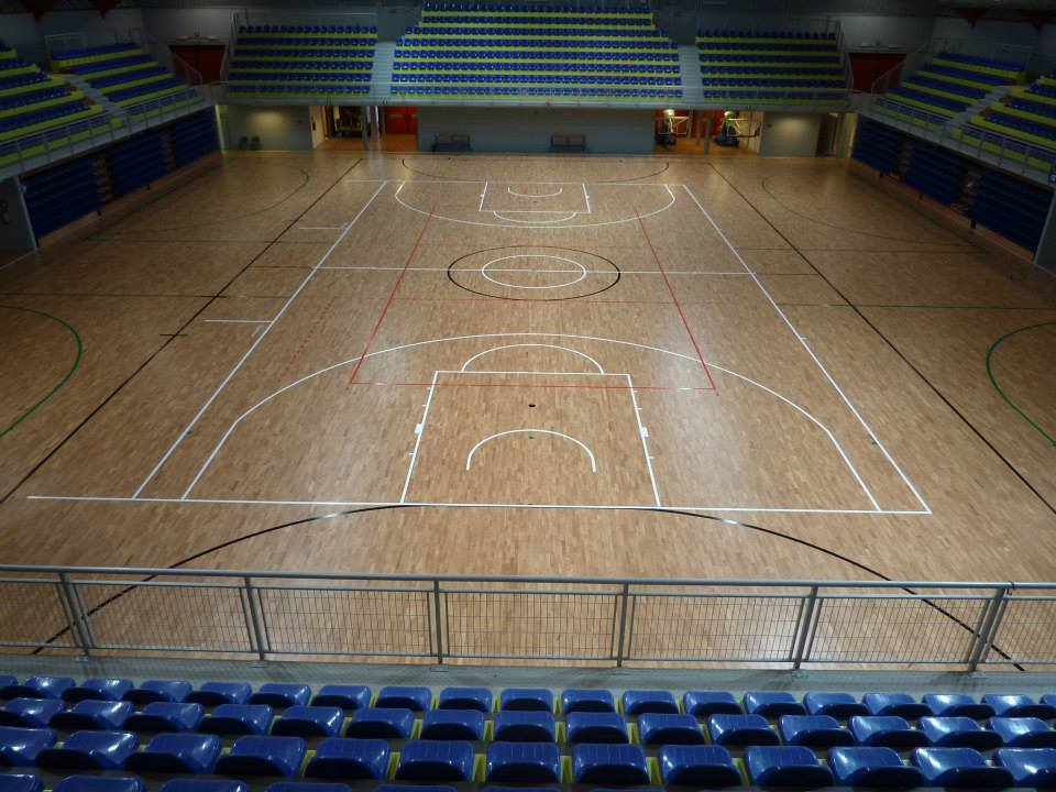 gymnasium parquet floors italy