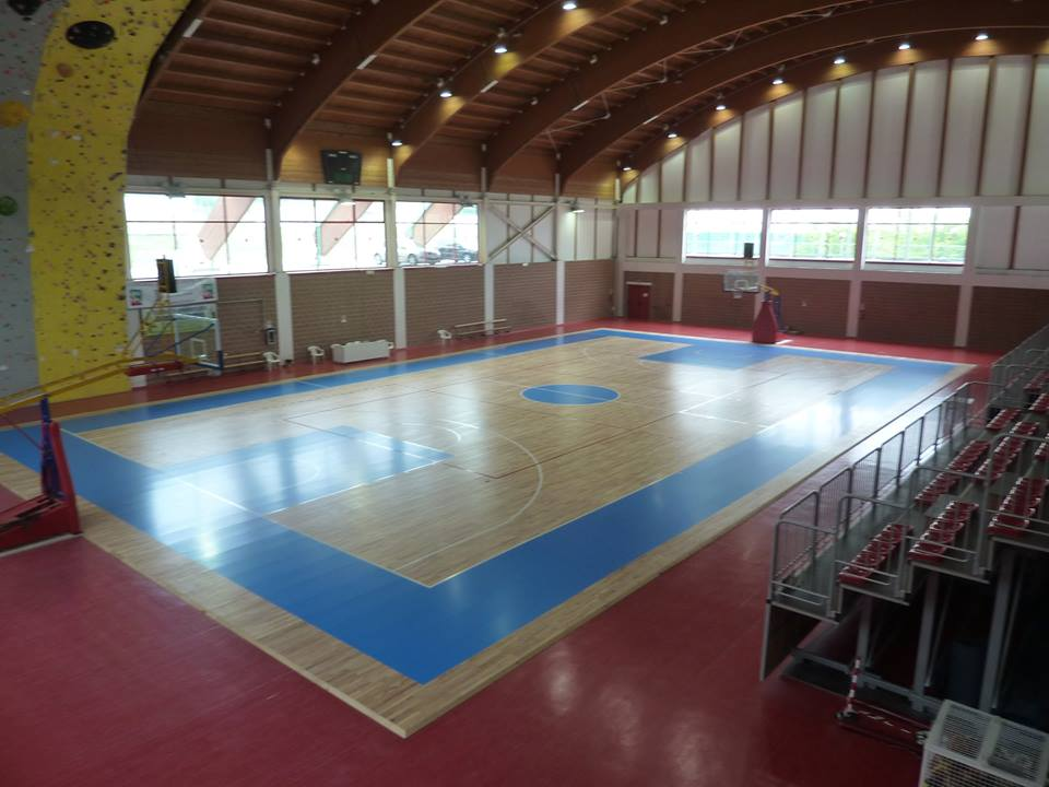 portable sports parquet for gym dalla riva