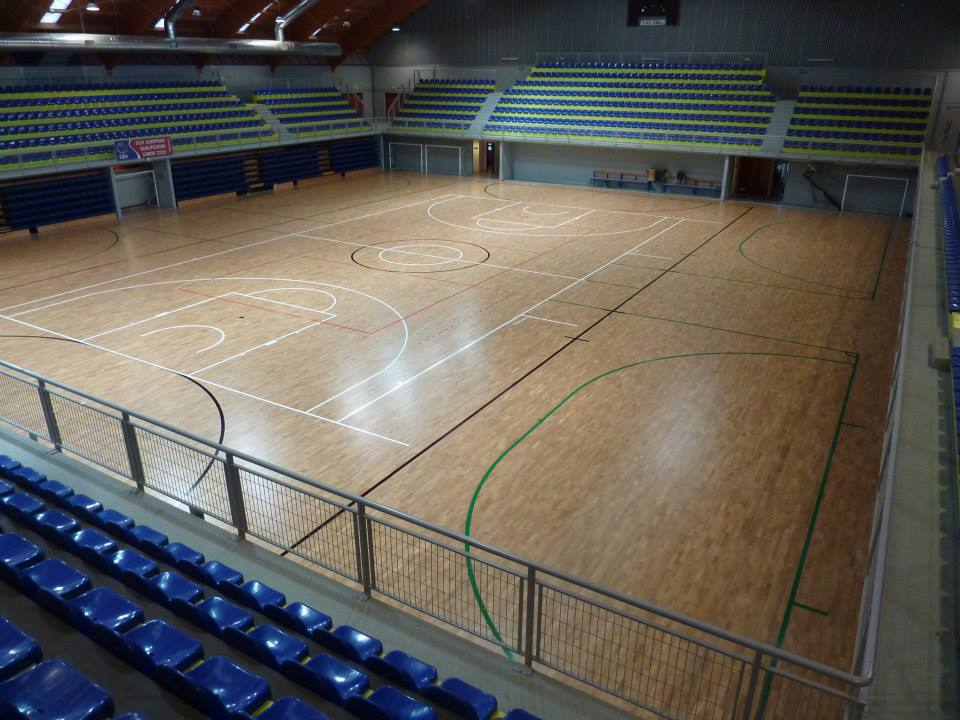 sports parquet for gym