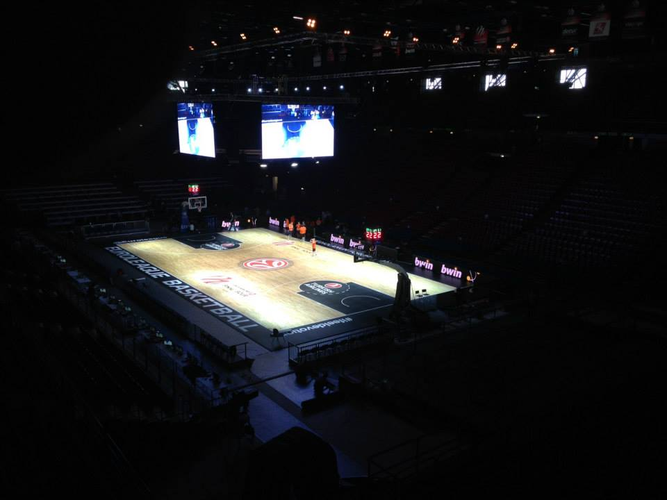 EUROLEAGUE FINAL FOUR 2014 MILAN PORTABLE SPORTS PARQUET DALLA RIVA