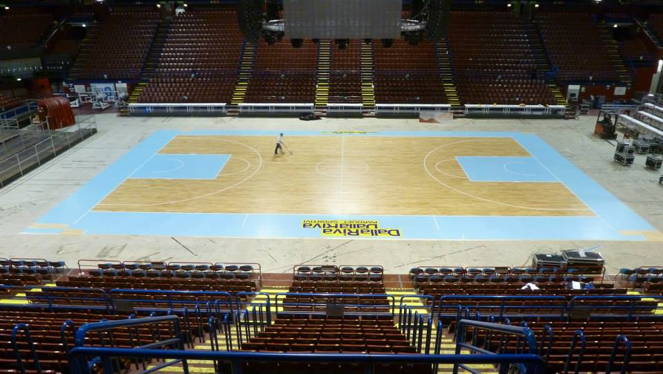 PORTABLE SPORTS PARQUET FLOOR DALLA RIVA ITALY