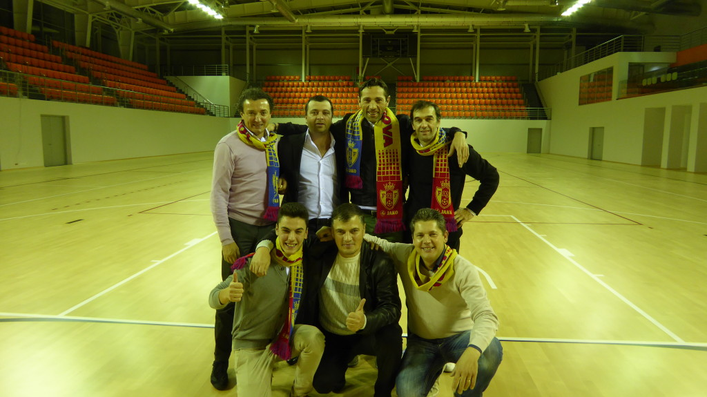 MOLDOVA 2014 GREAT EXPERIENCE NEW SPORTS FLOOR DALLA RIVA