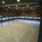 wooden sports floor dalla riva