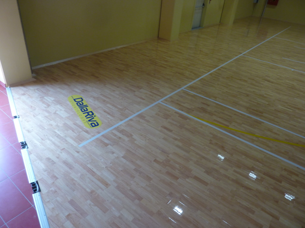 The model Solid Jump System by Dalla Riva Sportfloors is particularly prized by practitioners of volleyball because of its elasticity
