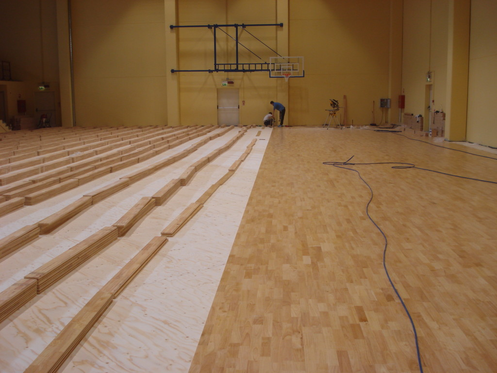 Particularly appreciated the recent installation made by Dalla Riva Sportfloors in Izano