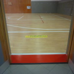 "Positive appreciation from the users of the gym Piuro: ""This flooring seems to walk on the clouds ..."" commented a lady"