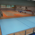 "The splendid view of the new gym ""Falcone and Borsellino"" Canegrate"
