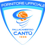 Removable sports floor for Basketball Cantù Italy