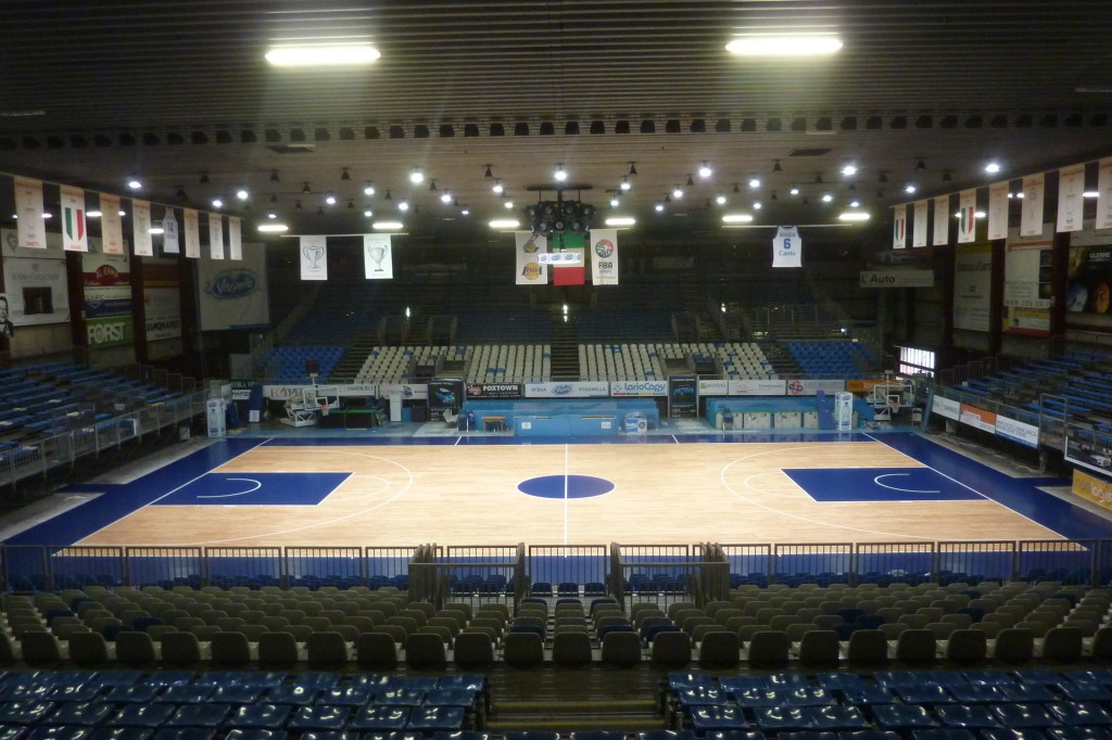 "Dalla Riva Sportfloors becomes ""Official Supplier"" of Basketball Cantù"