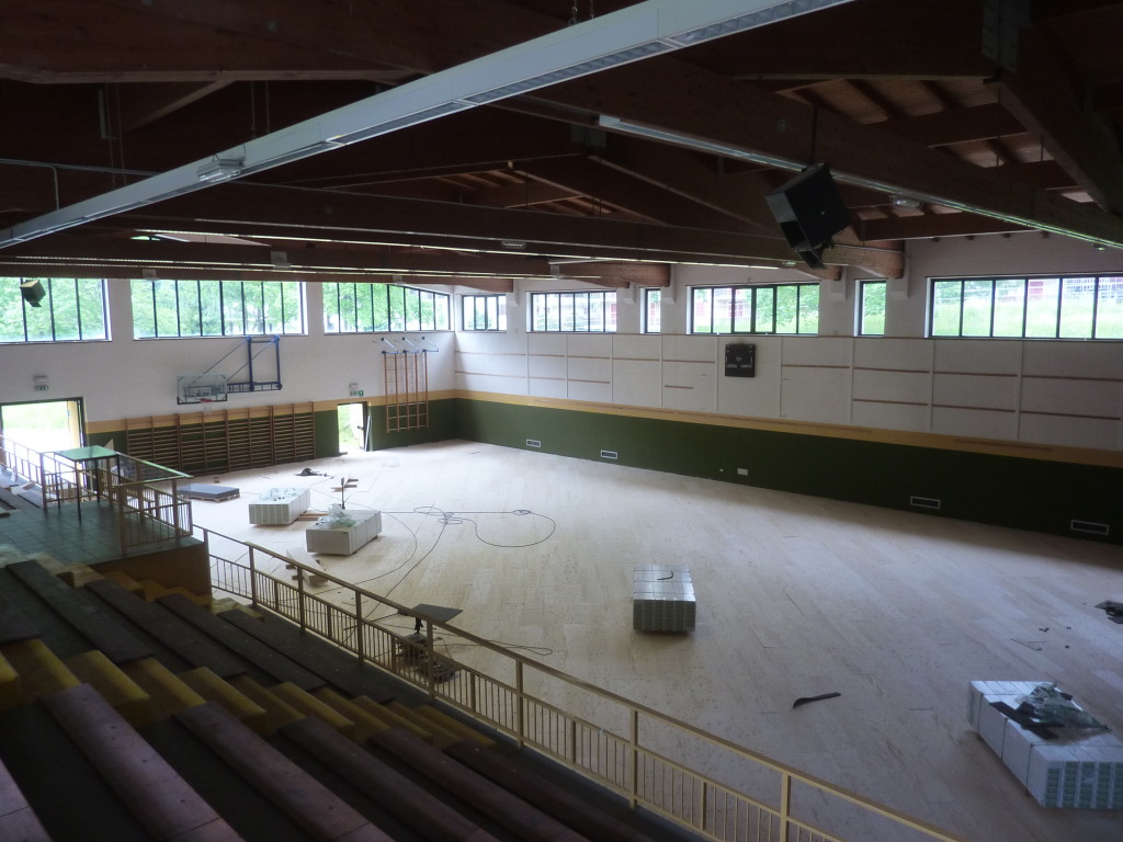 Campodolcino Municipality is very small but full of sports facilities