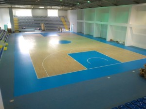 The new sports parquet floor of Calabria is strictly approved Fiba