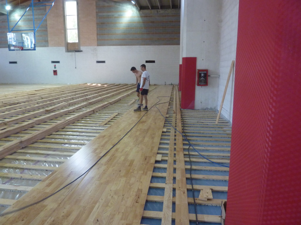 For The New Sports Floor Of Building Bordighera It Was Chosen A Model In