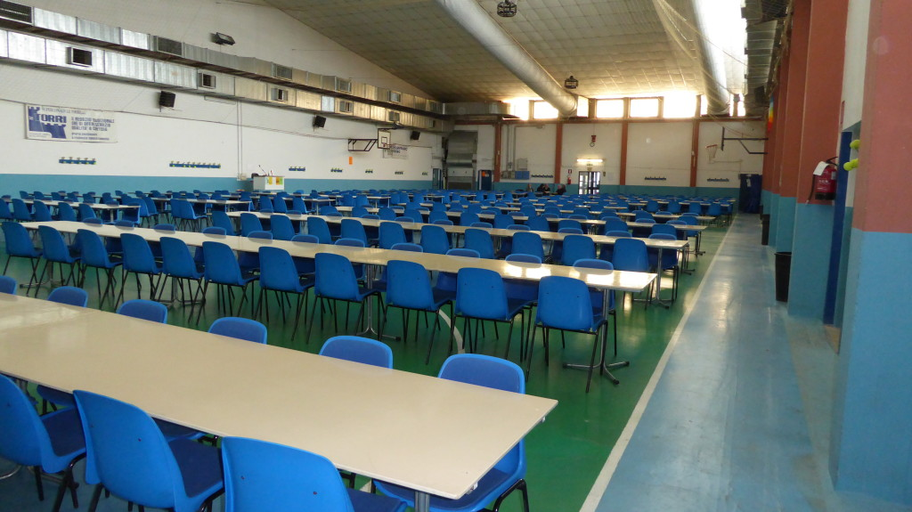 "The ""polyvalent"" hall in Modena where Dalla Riva Sportfloors was asked to put its sports flooring"