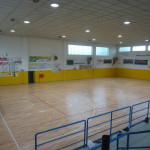 The work of laying the new sports flooring by Dalla Riva Sportfloors is completed