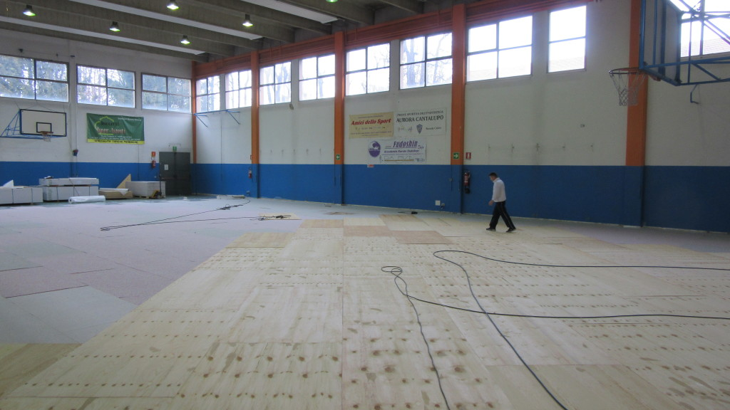 The package proposed by Dalla Riva Sportfloors is FIBA approved and certified to EN 13501, the European reaction to fire regulations