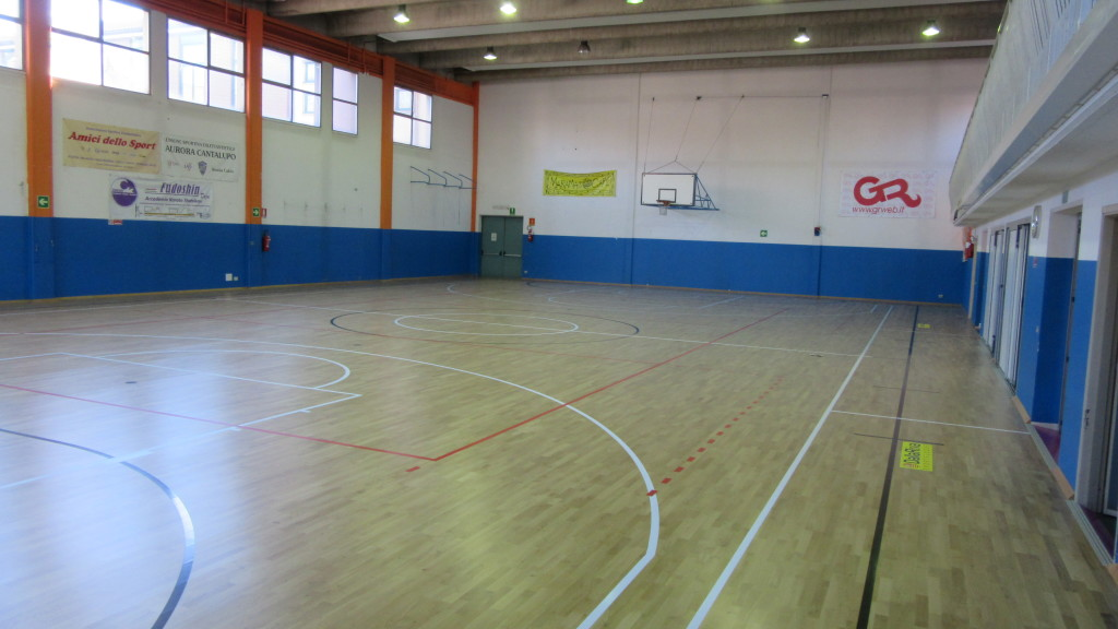 As in Cerro, there are an increasing number of gyms that adopt the system of the overlap of the resilient flooring