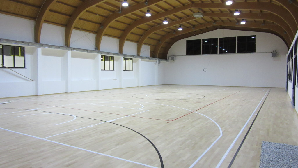 A Unique Sports Center With Two Gyms For Two Different