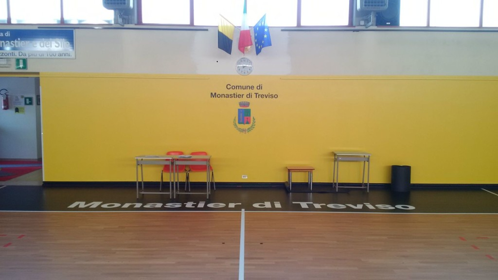 The City of Monastier (Treviso) has turned his gym and involved Dalla Riva Sportfloors for maintenance of the sports flooring