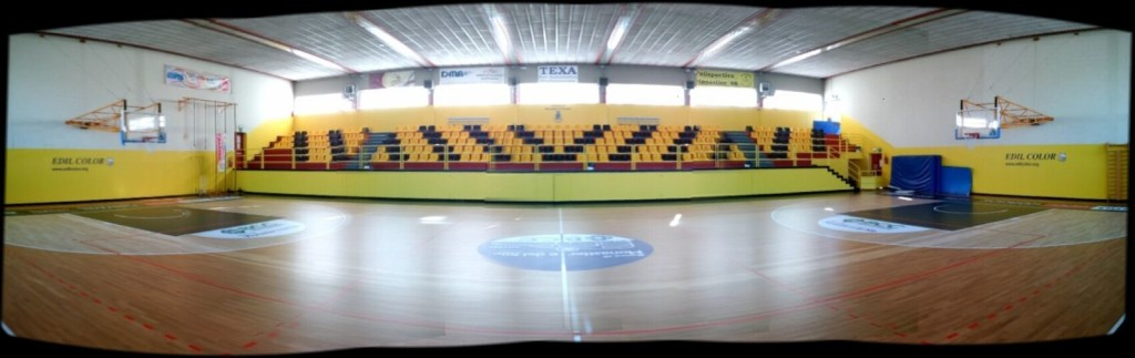 A beautiful total sport parquet image of Treviso gym after maintenance of Dalla Riva Sportfloors