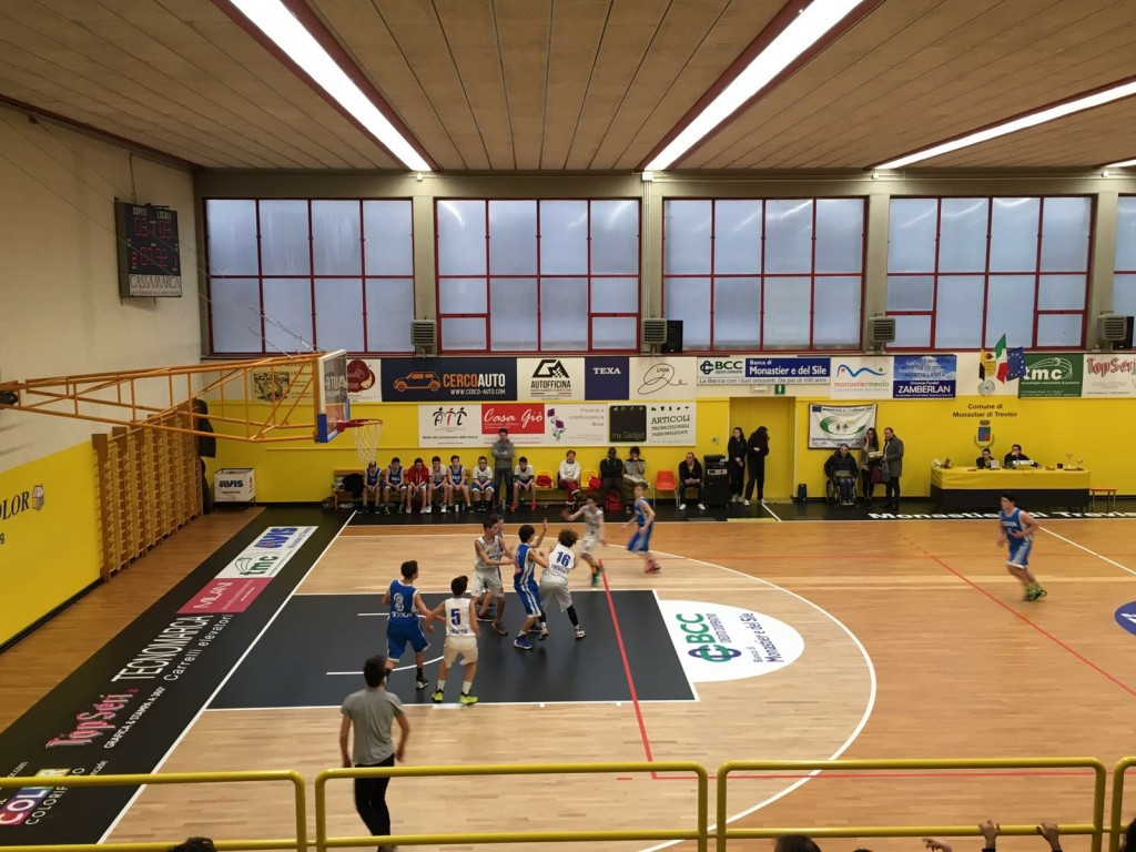 Now the Monastier gym is among the most advanced of the province of Treviso
