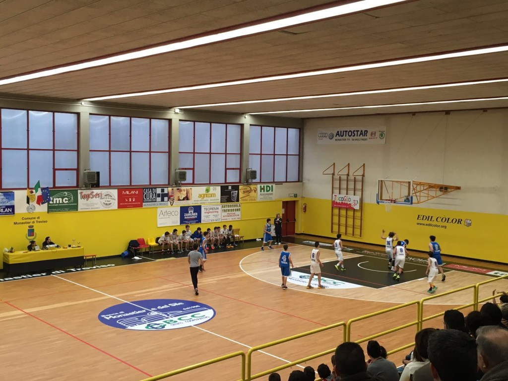 phases of the game during a basketball match; the personalization has been completed with the application of suitable adhesives