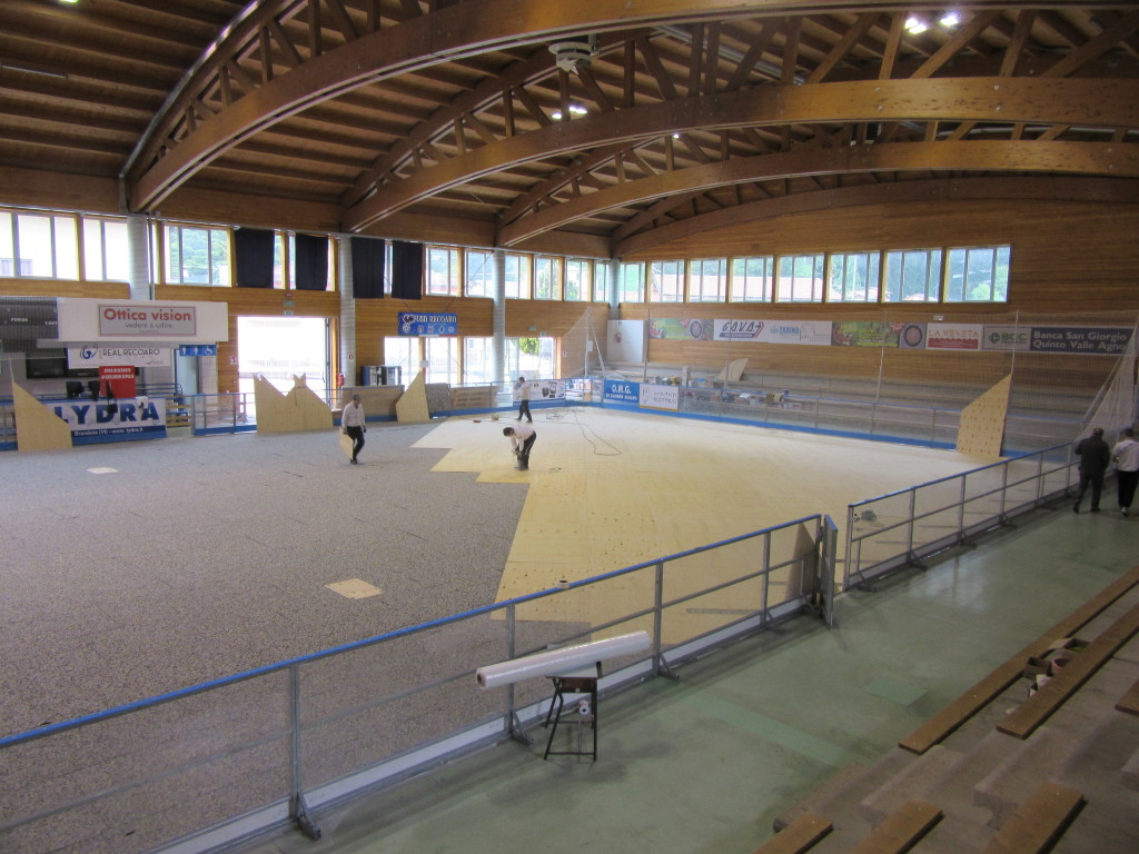 For a more complete offer, the municipality of Recoaro has decided to improve the sports flooring