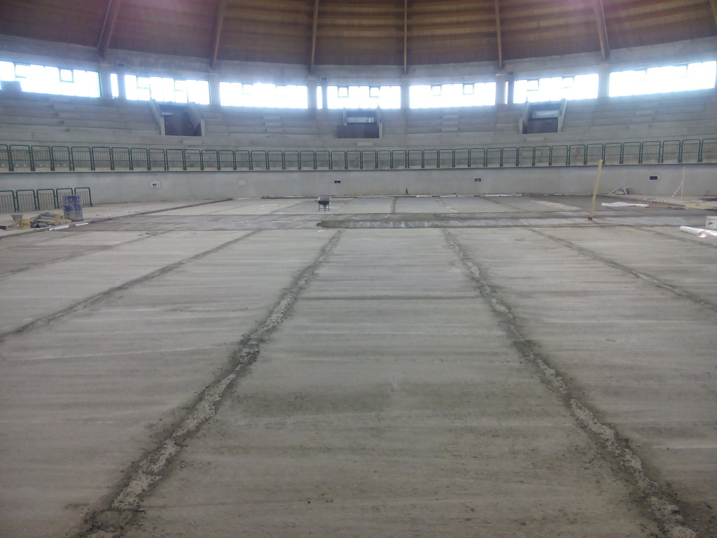 The sports hall of Milazzo