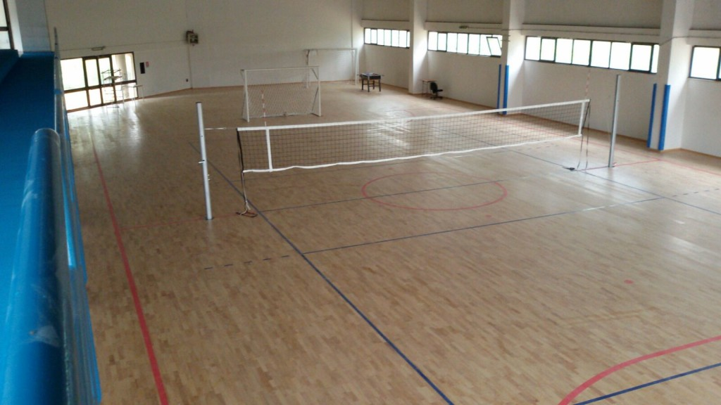 End of the work in Olbia: tracing reserved exclusively for basketball and volleyball