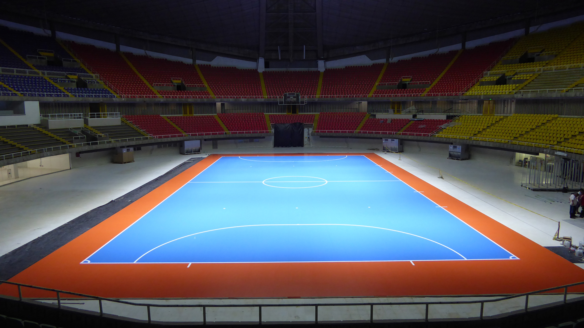 Sports Parquet Dalla Riva For The Fifa Futsal World Cup In