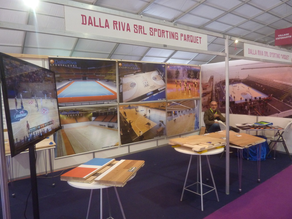 Dalla riva sportfloors was present at salon international for Salon international