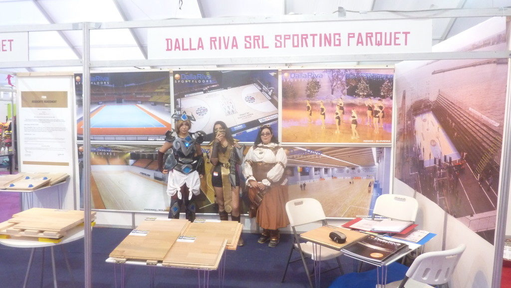 Pictures from the international fair of the sport 2016 in Casablanca