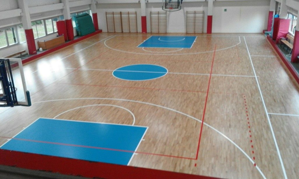 Installation accomplished: in Udine a new sports parquet signed Dalla Riva Sportfloors