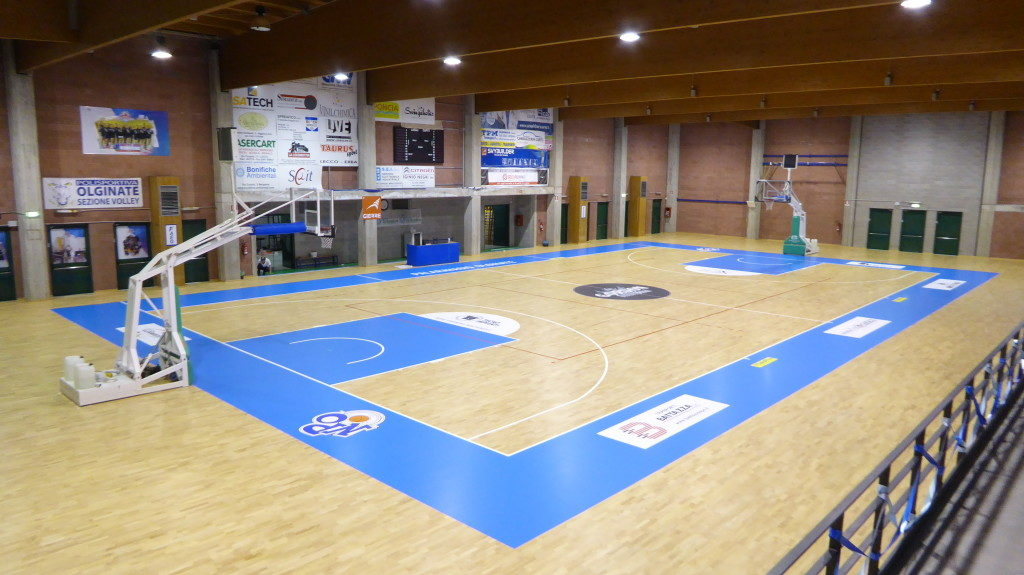 Like all parquet Dalla Riva Sportfloors, this is also FIBA approved