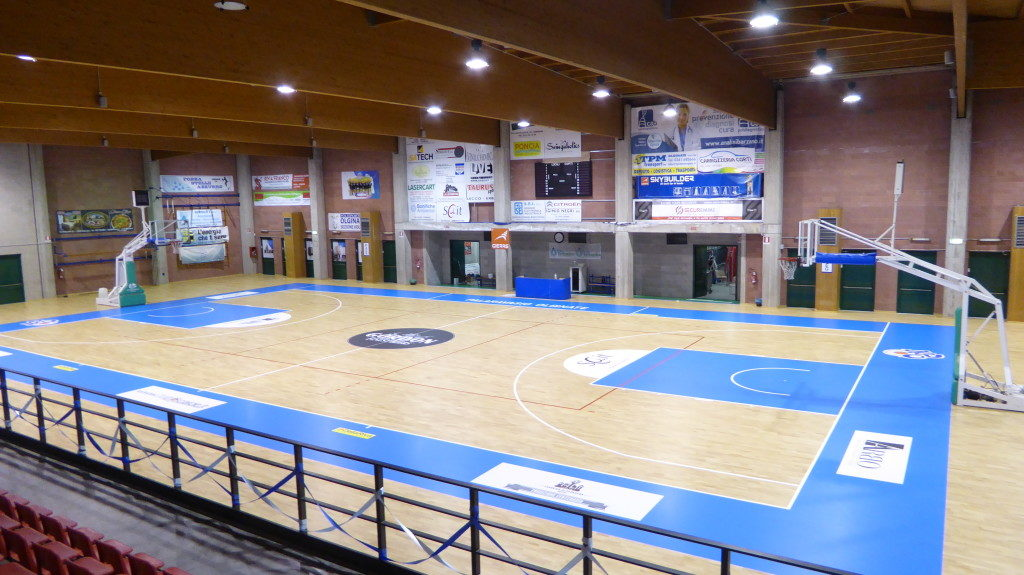 New Basketball Olginate demanded a parquet level of excellence, with Dalla Riva Sportfloors was satisfied