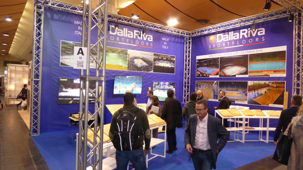 Pictures of Dalla Riva Sportfloors at Domotex 2017