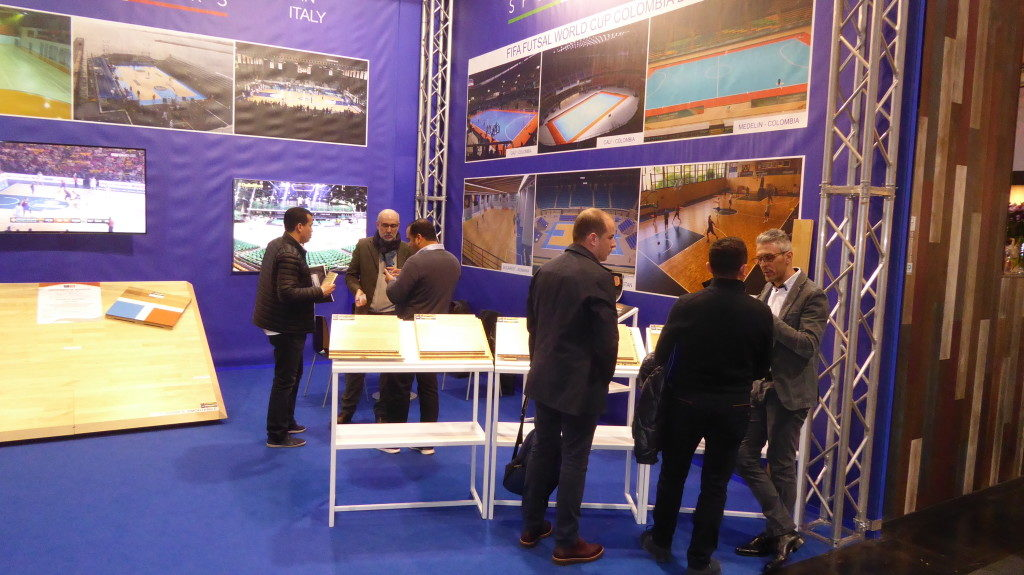 Other times by Domotex 2017, from the stand Dalla Riva Sportfloors