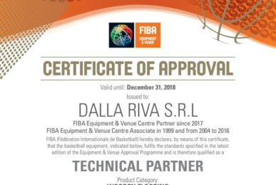 FIBA Technical Partner Wooden Sports Flooring - Dalla Riva Sportfloors