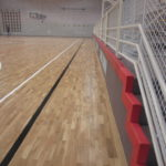 In Cinto a restyling in full rule, from the new sports parquet to shockproof coatings