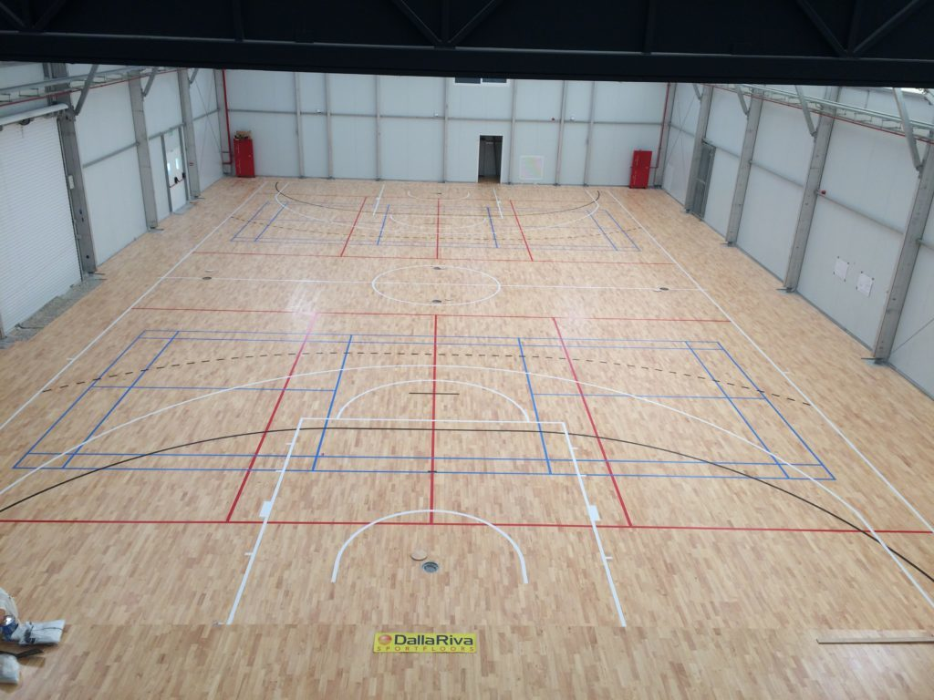 """Thanks to Dalla Riva Sportfloors the """"Made in Italy"""" has been successful in Malta again"""